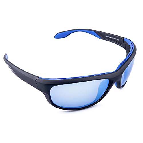 TAC Polarized Sports Sunglasses, Zhara 100% UV Protection Impact Resistance Sports Glasses for Men Women Driving Running Climbing Outdoor Activities Unbreakable Lightwight Tr90 - Sunglasses Sport Swiss