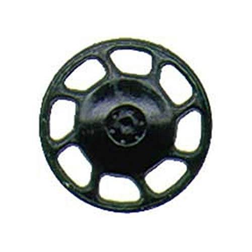 HO Brake Wheel, Universal/Black (8)