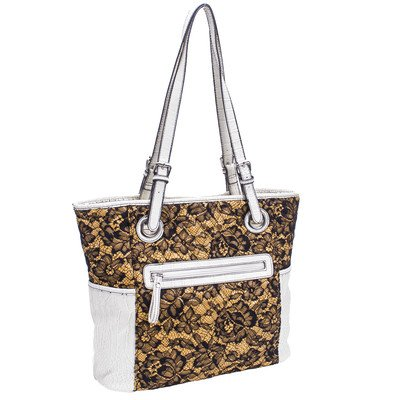 parinda-melody-quilted-fabric-with-croco-faux-leather-tote-yellow