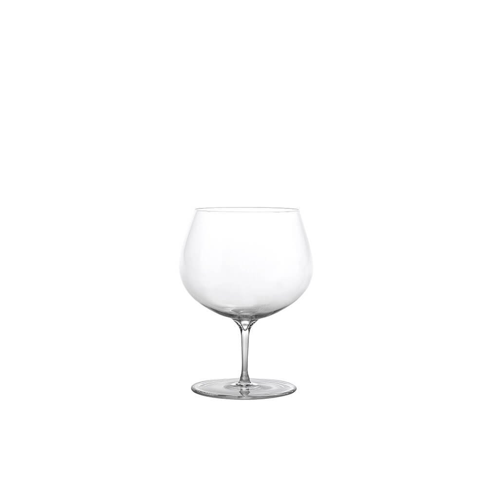 Set 2 Zafferano Ultralight Cognac goblet in glass