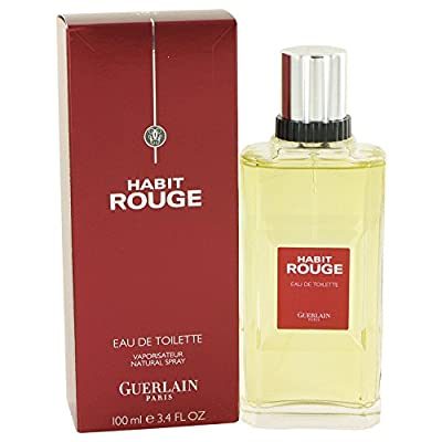 Habit Rouge Cologne By Guerlain For Men