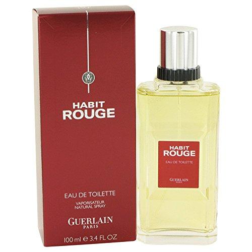 Habit Rouge Cologne By Guerlain For Men