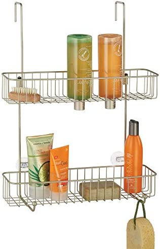 mDesign Bathroom Hanging Storage Organizer product image