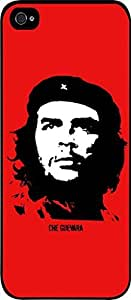 Che Guevara-Red - Hard Black Plastic Snap - On Case -Apple Iphone 6 Plus ONLY- Great Quality!
