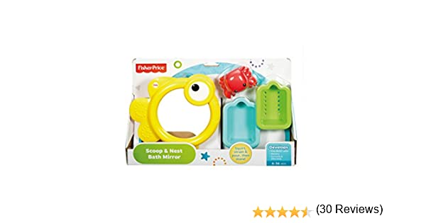 Infant - Espejito para baño Fisher-Price (Mattel CMY27) , color ...
