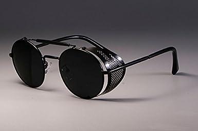 931b2e441cbd2 BuyWorld CCSPACE Steampunk Retro Round Metal UV Protection Unisex  Sunglasses  Amazon.in  Amazon.in
