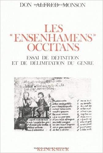 Les Ensenhamens Occitans Essai De Definition Et De