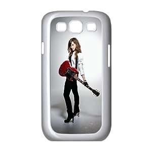 WJHSSB Phone Case Demi Lovato Hard Back Case Cover For Samsung Galaxy S3 I9300