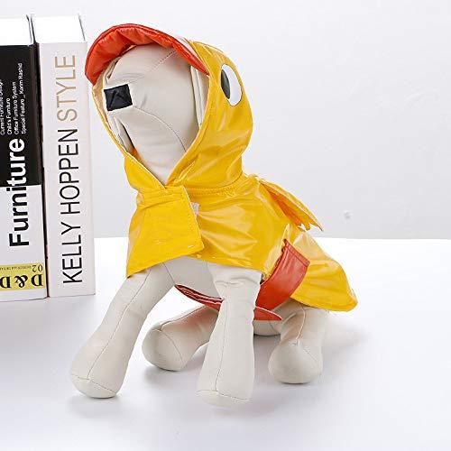 Pet Dog Rain Coats,Elevin Pet Dog Clothes Lovely Duck Shape