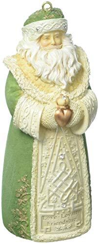 Enesco Irish Santa Ornament, Multicolor