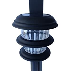 Solar Lanai Lights 4 Lights - Brightness10 LUMEN, Clip on for Patio's, Screen Enclosures and Pool Cage Lighting