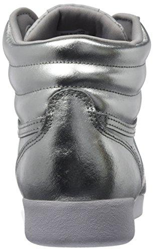 Metallic Metsteelwhite Sport Chaussures De F Femme silver s Reebok Hi Pour Argent BWwqtU6UPn