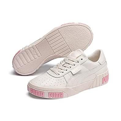 PUMA CALI Bold WN's Women's Sneakers, Pastel Parchment-Bridal Rose, 6 US
