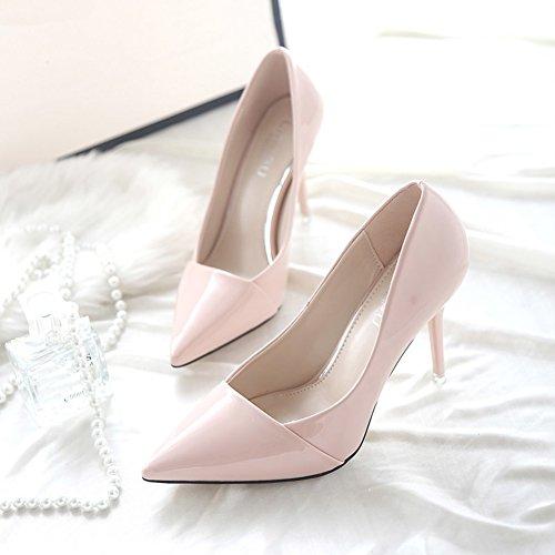 Heels Frauen Fersen Bbdsj 9cm High Schuhe Leder Profi Womens farben mehrere Print High Spitzen Heels Sexy Fashion Heels 7qwAq4d