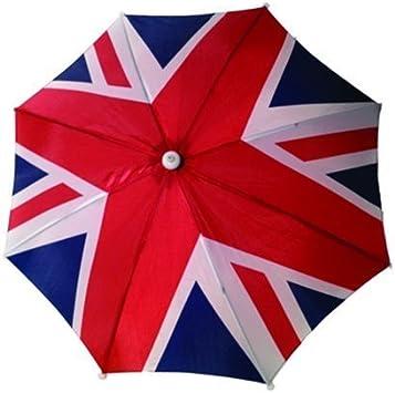 Sombrero estilo paraguas con bandera de Reino Unido, Union Jack ...