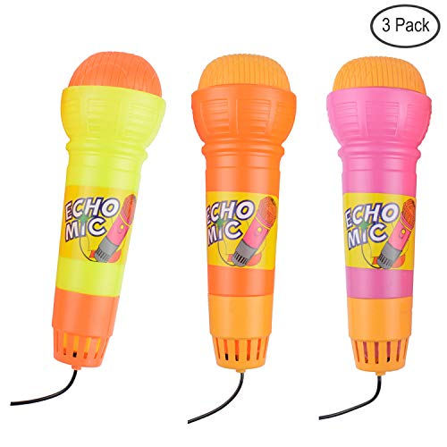 Package of 12 Rhode Island Novelty 10.5 Inch Microphone Inflates
