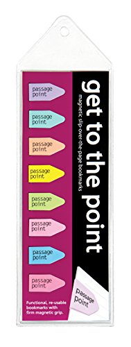Get to the Point - Passage Point Magnetic Arrow bookmarks - Pastel Set of -