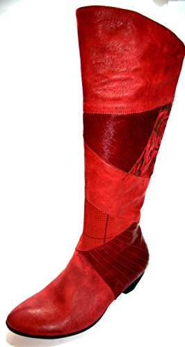 Think Aha 7-87198-21 - Botas para mujer Rot/Rosso/Kombi