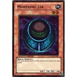 YuGiOh Gold Series 4 Single Card Morphing Jar GLD4-EN007 Gold Rare by Yu-Gi-Oh!