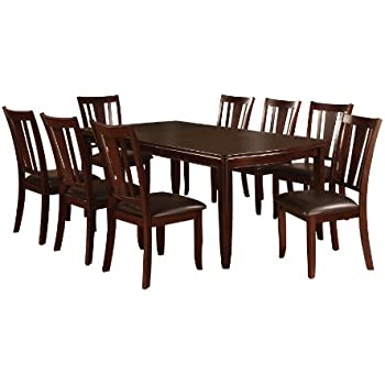 Amazon Furniture of America Frederick 9 Piece Dining Table
