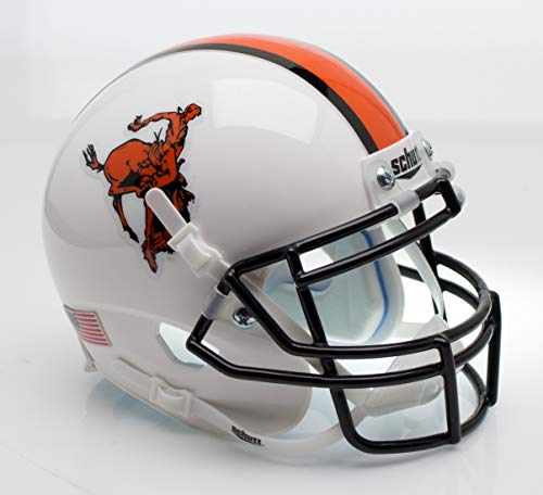 NCAA Okalahoma State Cowboys Mini Authentic XP Football Helmet, Bucking Cowboy Alt. 11, Mini