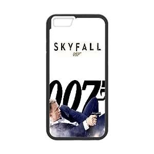 """LSQDIY(R) James Bond 007 iPhone6 Plus 5.5"""" Case, Custom iPhone6 Plus 5.5"""" Phone Case James Bond 007"""