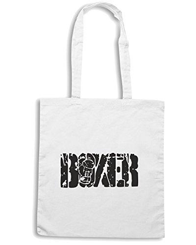 T-Shirtshock - Bolsa para la compra TBOXE0003 boxer Blanco