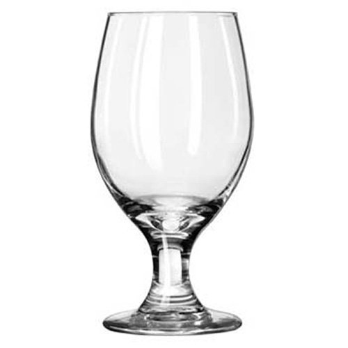 Libbey 3010 Perception 14 Ounce Banquet Goblet - 24 / (Banquet Goblet Glass)