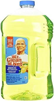 Mr. Clean M. Net Multi Surface All Purpose Antibacterial Liquid Cleaner, Summer Citrus, 2.4 L