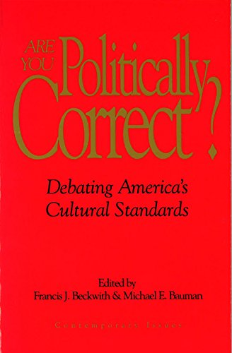 Are You Politically Correct? (Contemporary Issues)
