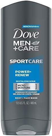 Dove Men + Care Sportcare Body Wash Power+Renew 400 Ml