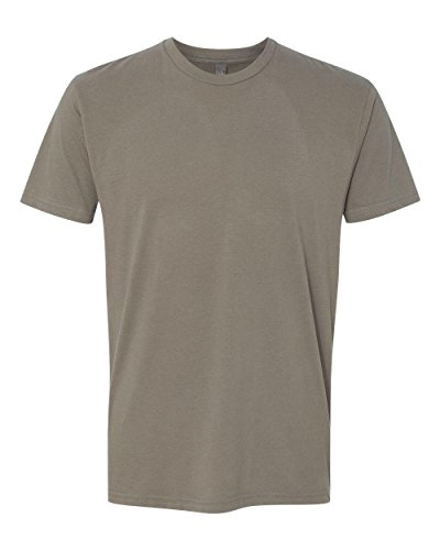 Next Level Apparel 6410 Mens Premium Fitted Sueded Crew Tee - Warm Gray44; (Apparel)