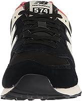 buy online b1565 2aa93 New Balance HI VIS Pack ML574HVD, 7.5 D US, black: Amazon ...