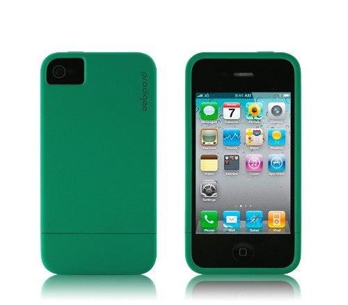 prodigee Coque, émeraude, fourrure iPhone 4