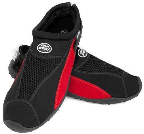 Ensemble Aqua speed Femmes Microfibre Noir Chaussures Serviette Néoprène Unisexe Hommes Aquatiques En Rouge Adolescents 11 D'eau Enfants Modèle q05dwg0r