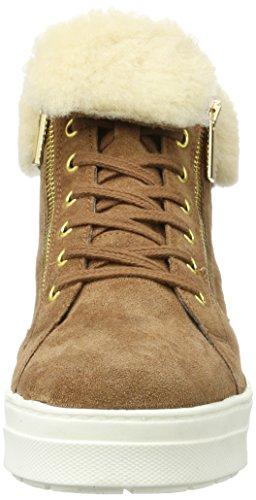 26470 Sneakers 4 Femme Caprice Basses Marron gqYdg5w