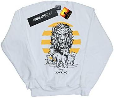 Disney Herren The Lion King Movie Group Sweatshirt Weiß XX-Large