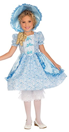 Forum Novelties Girls Lil' Bo Peep Costume, Medium, One Color -