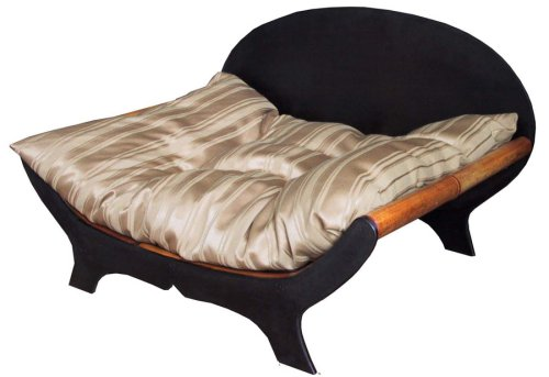 Merry Pet King's Bed with Cushion - Small Bamboo Pet Bed
