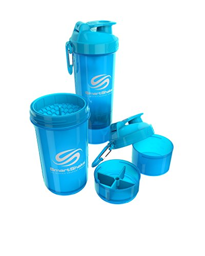 Smartshake Original 2GO, 20 oz Shaker Cup,  Blue (Packaging May Vary)