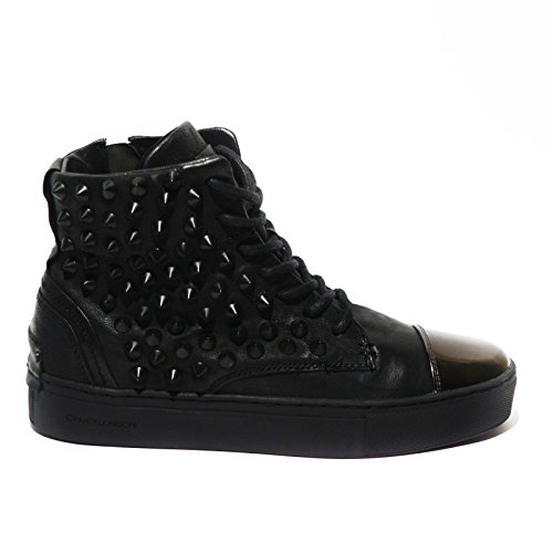 CRIME LONDON SCARPE IN PELLE CON BORCHIE 25520A16B NERO DONNA-37