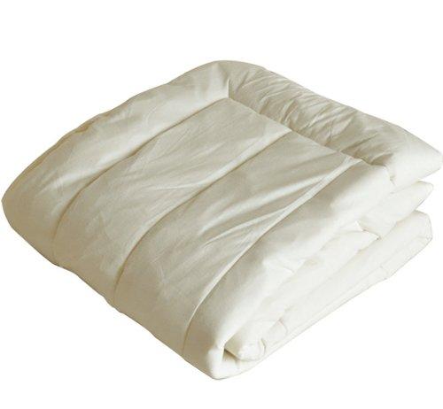 エムール 吸湿 発熱 オメガウール 羊毛敷きパッド ダブル 日本製 B0065FVG1G