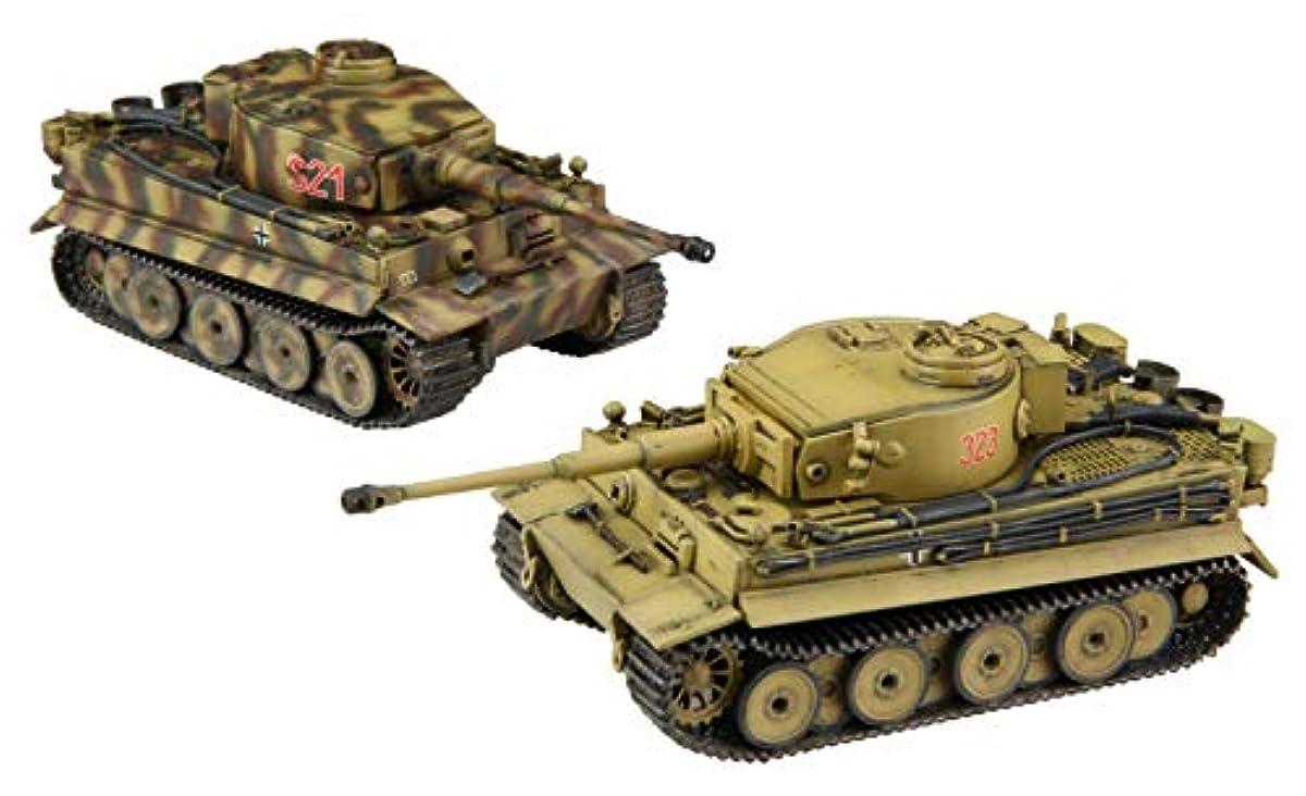 [해외] 후지미 모형 1/72 밀리터리 시리즈 NO.5 독일 육군중 전차 티가―I 초기형 2 양세트 프라모델  ML5