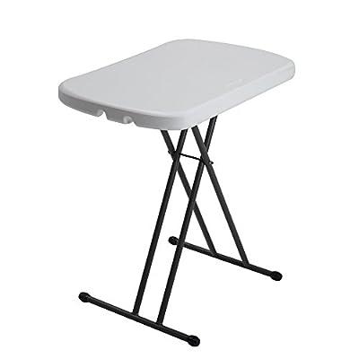 Lifetime 80251 Adjustable Folding Laptop Table TV Tray