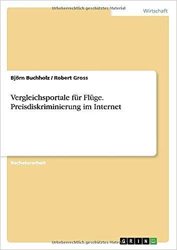 Björn Buchholz vergleichsportale für flüge preisdiskriminierung im