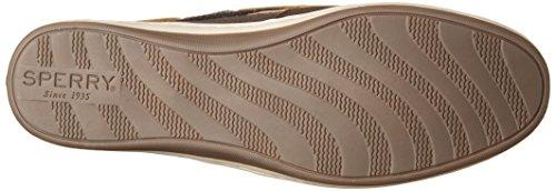 Shoes Brown Wool Songfish Dark Brown Suede Sperry Boat Women's zfqxw7