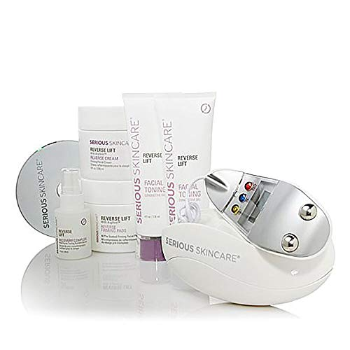 Microcurrent Skin Care Kit, High Frequency Facial Machine and Skin Care Products