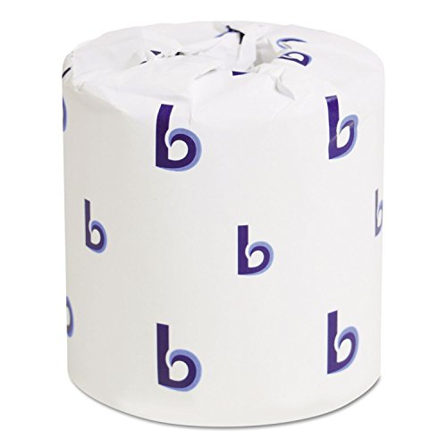 bwk6144 two-ply Papel Higiénico, color blanco, 400 hojas/rollo
