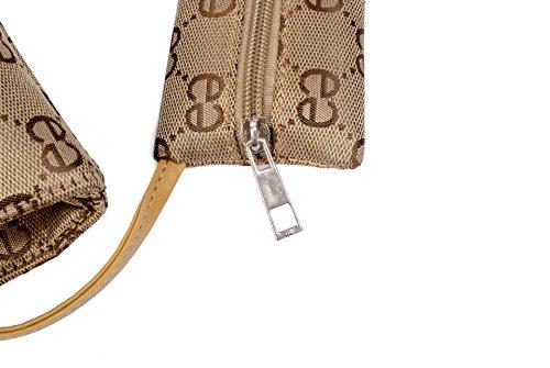 ZENTEII bolso de mano de cuero sintético de imitación bolso de mano