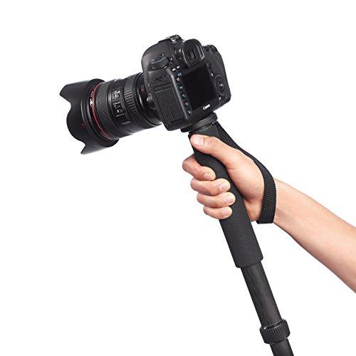 AmazonBasics Carbon Fiber Camera Monopod - 17.5 - 61 Inches, Black